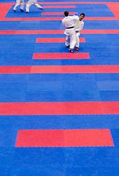 Kumite Individual male Seniors -60kg at Day Two of Karate 1 World Cup - Thermana Slovenia Lasko 2013 tournament, on March 17, 2013 in Arena Tri Lilije, Lasko, Slovenia. (Photo by Vid Ponikvar / Sportida.com)