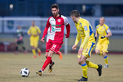 Mario Jurcevic of NK Aluminij during football match between NK Domzale and NK Aluminij in Round #24 of Prva liga Telekom Slovenije 2017/18, on March 18, 2018 in Sports park Domzale, Domzale, Slovenia. Photo by Urban Urbanc / Sportida