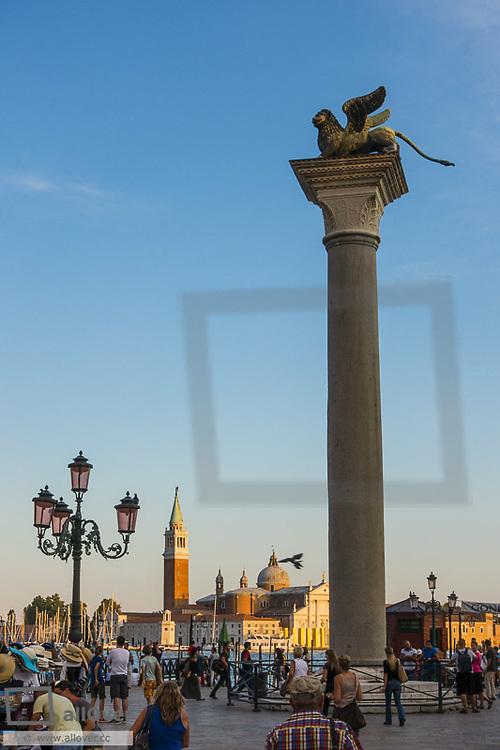 Piazzetta San Marco, Venice, Venetia, Italy