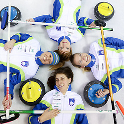 20131118: SLO, Curling - Slovenian Women Curling Team