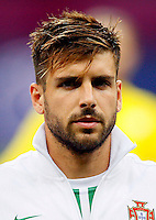 Football Fifa Brazil 2014 World Cup Matchs-Qualifier / Europe - Group F /<br /> Portugal vs Israel 1-1  ( Jose Alvalade Stadium - Lisbon , Portugal ) - <br /> MIGUEL VELOSO of Portugal , during the match between Portugal and Israel
