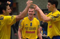 15-02-2001 VOLLEYBAL: PIET ZOOMERS D - IZUMRUD EKATARINENBURG: APELDOORN<br /> Joost Kooistra<br /> &copy;2001-WWW.FOTOHOOGENDOORN.NL