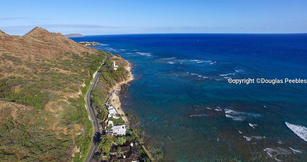 Diamond Head, Lighthouse, Honolulu, Oahu, Hawaii