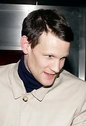 Matt Smith arriving at the Dr Who 50th anniversary party,  London, United Kingdom. Saturday 23rd November 2013. Picture by Mike Webster / i-Images
