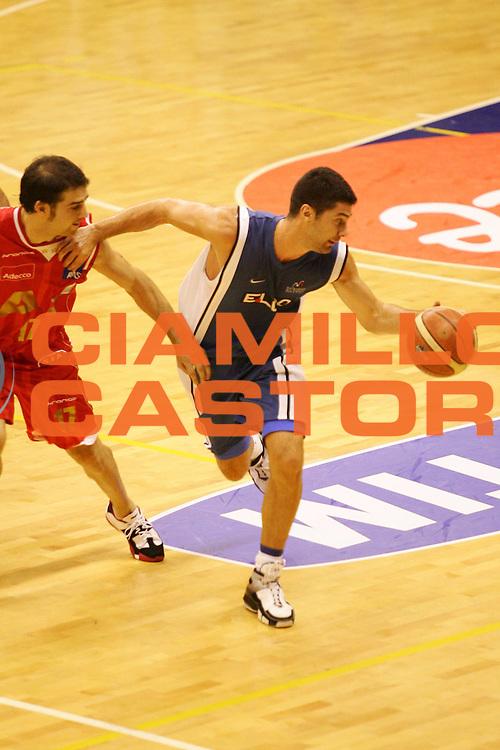 DESCRIZIONE : Milano Precampionato Lega A1 2006-07 Trofeo Tim<br />GIOCATORE : Malaventura<br />SQUADRA : Eldo Napoli <br />EVENTO : Precampionato Lega A1 2006-2007 Trofeo Tim<br />GARA : Armani Jeans Milano Eldo Napoli<br />DATA : 19/09/2006 <br />CATEGORIA : Palleggio <br />SPORT : Pallacanestro <br />AUTORE : Agenzia Ciamillo-Castoria/M.Marchi