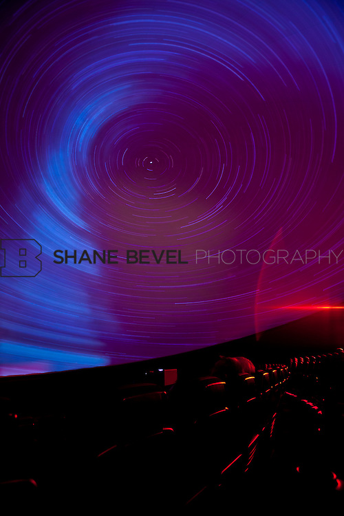 11/1/11 3:14:18 PM -- Tulsa Air and Space Museum. Long exposures of the planetarium. <br /> <br /> Photo by Shane Bevel
