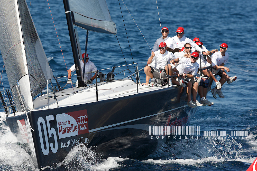 AUDI MED CUP 2009-MARSEILLE-JUNE 2009-COPYRIGHT : THIERRY SERAY VOILE-EQUIPAGES-SAILING CREW-PART.1