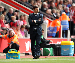Tottenham Hotspur Manager, Mauricio Pochettino - Photo mandatory by-line: Robbie Stephenson/JMP - Mobile: 07966 386802 - 25/04/2015 - SPORT - Football - Southampton - ST Marys Stadium - Southampton v Tottenham Hotspur - Barclays Premier League