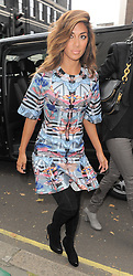 Nicole Scherzinger attends the Temperley London catwalk show during London Fashion Week Spring Summer 2015 in London, UK. 14/09/2014<br />BYLINE MUST READ : GOTCHAIMAGES.COM<br /><br />Copyright by © Gotcha Images Ltd. All rights reserved.<br />Usage of this image is conditional upon the acceptance <br />of Gotcha Images Ltd, terms and conditions available at<br />www.gotchaimages.com