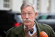 GEHEIME ONTMOETING Minister Ard van der Steur (Veiligheid en Justitie) en patholoog-anatoom George M