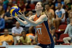 08-08-2014 NED: FIVB Grand Prix Nederland - Puerto Rico, Doetinchem<br /> Carlijn Jans