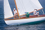 Firefly, S Class, sailing in the Robert H. Tiedemann Classic Yachting Weekend race 1.