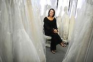 Leslie DeAngelo, founder of VOWS Bridal Outlet, 2009.
