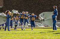 Kearsarge versus Monadnock football semifinal under the lights Saturday, November 3, 2012.  (Karen Bobotas/for the Concord Monitor)
