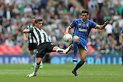 Connor Smith during the Sky Bet League 2 play off final match between AFC Wimbledon and Plymouth Argyle at Wembley Stadium, London, England on 30 May 2016.