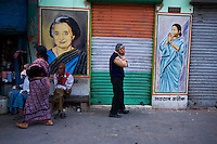 Inde, Bengale-Occidental, Kolkata, scene de rue // India, West Bengal, Kolkata, Calcutta, street life