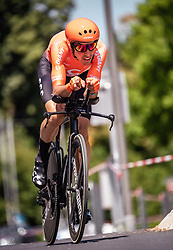 06.07.2019, Wels, AUT, Ö-Tour, Österreich Radrundfahrt, Prolog, Einzelzeitfahren (2,5 km), im Bild Victor De La Parte (CCC Team, ESP) // Victor De La Parte (CCC Team, ESP) during the prolog, Individual time trial (2,5 Km) of the 2019 Tour of Austria. Wels, Austria on 2019/07/06. EXPA Pictures © 2019, PhotoCredit: EXPA/ JFK
