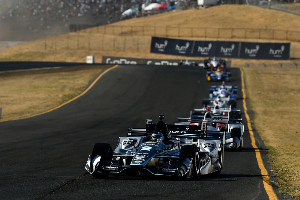 Verizon IndyCar Series<br /> GoPro Grand Prix of Sonoma<br /> Sonoma Raceway, Sonoma, CA USA<br /> Sunday 17 September 2017<br /> Josef Newgarden, Team Penske Chevrolet<br /> World Copyright: Scott R LePage<br /> LAT Images<br /> ref: Digital Image lepage-170917-son-10935