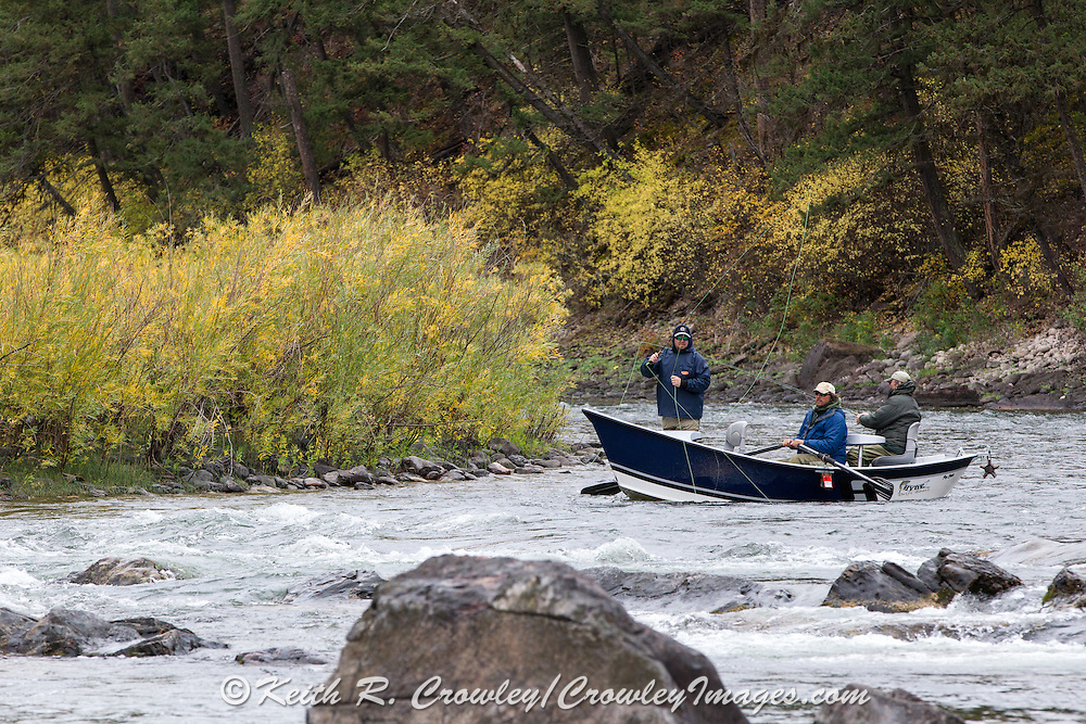 Drift Boat Fly Fishing on the Blackfoot River