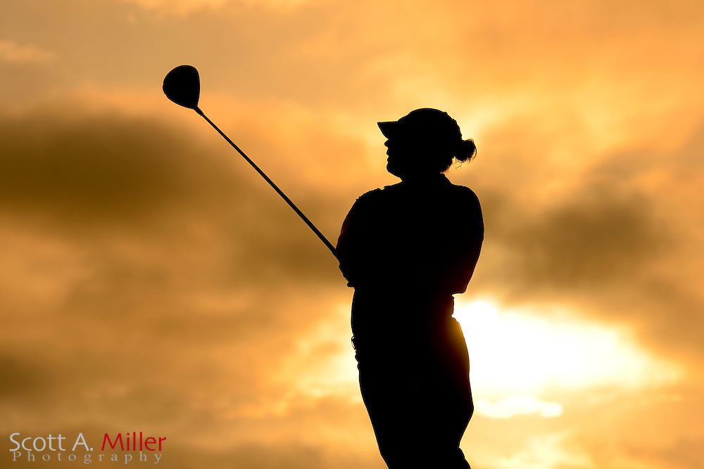 Mary Narzisi during the first round of the Symetra Tour Championship at LPGA International on Sept. 26, 2013 in Daytona Beach, Florida. <br /> <br /> <br /> ©2013 Scott A. Miller