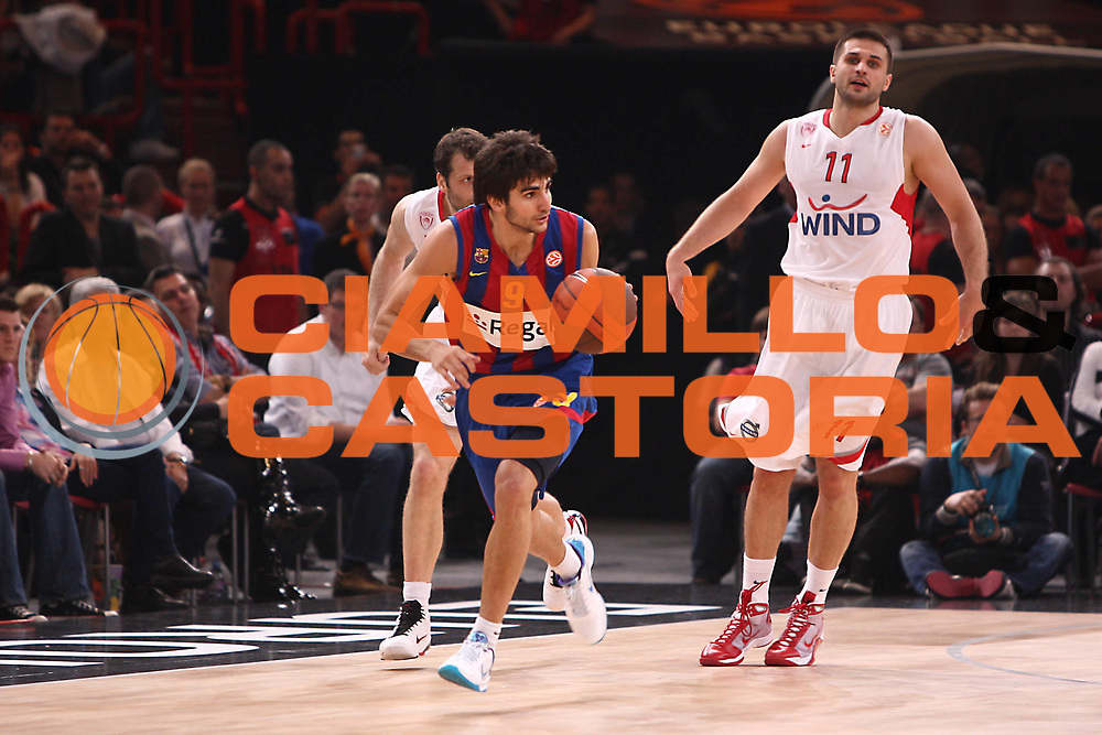 DESCRIZIONE : Parigi Paris Eurolega Eurolegue 2009-10 Final Four Finale 1-2 posto place Final Regal Fc Barcellona Olympiacos Pireo Atene<br /> GIOCATORE : Ricky Rubio<br /> SQUADRA :&nbsp;Regal Fc Barcellona <br /> EVENTO : Eurolega 2009-2010&nbsp;<br /> GARA : Regal Fc Barcellona Olympiacos Pireo Atene<br /> DATA : 09/05/2010&nbsp;<br /> CATEGORIA : palleggio<br /> SPORT : Pallacanestro&nbsp;<br /> AUTORE : Agenzia Ciamillo-Castoria/C.De Massis<br /> Galleria : Eurolega 2009-2010&nbsp;<br /> Fotonotizia : Parigi Paris Eurolega Euroleague 2009-2010 Final Four Finale 1-2 posto place Final Regal Fc Barcellona Olympiacos Pireo Atene<br /> Predefinita :