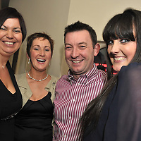 Free Pic/ No Repro Fee.Pictured at the opening of Kinsales Newest Night Club, Studio Blue, were Mary Kerrigan, Ailish and Michael O'Gorman and Robyn Sheehan from Kinsale..Pic. John Allen