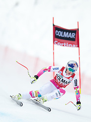 18-01-2015 AUT: Alpine Skiing World Cup, Cortina d Ampezzo<br /> 1st placed Lindsey Vonn of the USA in action during the ladies Downhill of the Cortina FIS Ski Alpine World Cup at the Olympia delle Tofane course in Cortina d Ampezzo, Italy<br /> <br /> ***NETHERLANDS ONLY***