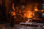 City: Ahemdabad, State: Gujarat , India, 18th February 2015:<br /> Foundry Shoot - TERI<br /> Photographer: SDC/2015/Prashanth Vishwanathan