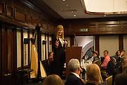 SIAN LLOYD;  An evening of entertainment at St James Court in support of the redevelopment of St Fagans National History Museum. In the spirit of the court of Llywelyn the Great . St. James Court Hotel. London. 17 September 2015<br />  <br /> Noson o adloniant yn St James Court i gefnogi ail-ddatblygiad Sain Ffagan Amgueddfa Werin Cymru