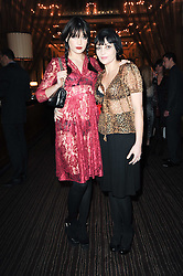 Left to right, DAISY LOWE and her mother PEARL LOWE at a party to celebrate the 135th anniversary of The Criterion restaurant, Piccadilly, London held on 2nd February 2010.