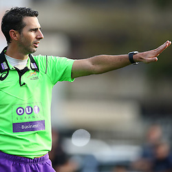 DURBAN, SOUTH AFRICA - SEPTEMBER 24: Referee Craig Joubert during the Gold Cup 2016 match between SA Home Loans Durban Collegians and Siyaya Brakpan at Growth Point Kings Park on September 24, 2016 in Durban, South Africa. (Photo by Steve Haag/Gallo Images)