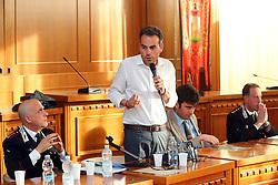 GIULIO PIERINI SINDACO DI BUDRIO<br /> INCONTRO CARABINIERI MOLINELLA SULLA SICUREZZA