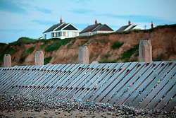 UK ENGLAND NORFOLK WALCOT 20MAY07 - Sea defences at the beach in Walcot, north Norfolk coast...jre/Photo by Jiri Rezac..© Jiri Rezac 2007..Contact: +44 (0) 7050 110 417.Mobile:  +44 (0) 7801 337 683.Office:  +44 (0) 20 8968 9635..Email:   jiri@jirirezac.com.Web:    www.jirirezac.com..© All images Jiri Rezac 2007 - All rights reserved.