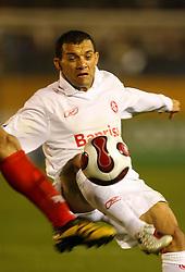 Iarlei em lance da partida entre o Internacional, do Brasil e o Al-Ahly, do Egito válido pelo Mundial Interclubes da Fifa, no Estádio Nacional de Tóquio. FOTO: Jefferson Bernardes/Preview.com