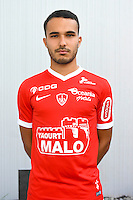 Zakarie Labidi of Brest during the Photo shooting of Stade Brestois in Brest on september 22th 2016<br /> Photo : Philippe Le Brech / Icon Sport