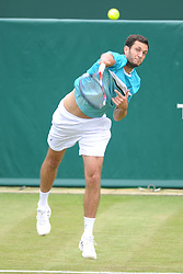JAMES WARD GREAT BRITAN, The Boddles Tennis Tournament,  Stoke Park Bucks, 29th June 2017<br /> Photo:Mike Capps