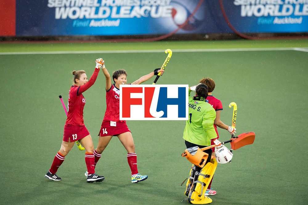 AUCKLAND - Sentinel Hockey World League final women<br /> Match id 10295<br /> 05 New Zealand  v Korea<br /> Foto: <br /> WORLDSPORTPICS COPYRIGHT FRANK UIJLENBROEK