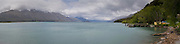 Panoramic view, Kinloch Lodge, Kinloch, Otago, New Zealand