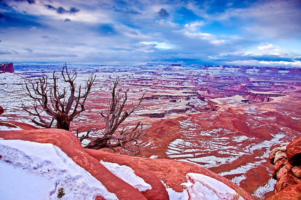 Canyonlands National Park - Island in the Sky, Green River Overlook