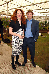 REBEKAH WADE and CHARLIE BROOKS at the 2008 Chelsea Flower Show 19th May 2008.<br />