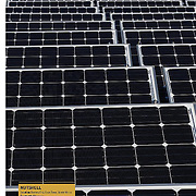 Vodacom solar installation at Century City, Cape Town, in Earthworks magazine