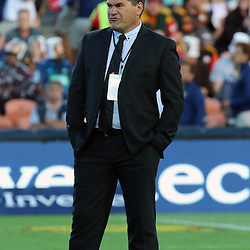 Head coach of the Chiefs Dave Rennie during the Investec Super  Rugby match between the Chiefs and Blues at FMG Waikato Stadium in Hamilton, New Zealand on Friday 3 March 2017. Photo: Dion Mellow / lintottphoto.co.nz