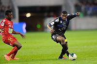 FOOTBALL - FRENCH CHAMPIONSHIP 2011/2012 - LE MANS FC v SC BASTIA   - 4/05/2015 - PHOTO PASCAL ALLEE / DPPI - ABDOULAYE SADIO DIALLO (BASTIA) / PATRICK CLAUDE EKENG EKENG (LE MANS)