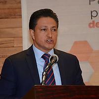 Toluca, México (Mayo 4, 2016).- Eduardo Valiente Hernández, Comisionado Estatal de Seguridad Ciudadana, durante la inauguración del Foro de Participación Ciudadana para la Prevención Social de la Violencia y la Delincuencia.  Agencia MVT / José Hernández.