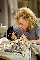Sewing machinist Burberry Castleford