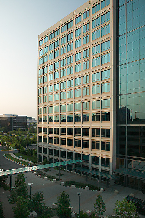 Morning Exterior image of Office Building