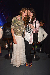"""Jemima Khan and Bella Freud at """"Hoping For Palestine"""" Benefit Concert For Palestinian Refugee Children held at The Roundhouse, Chalk Farm Road, England. 04 June 2018. <br /> Photo by Dominic O'Neill/SilverHub 0203 174 1069/ 07711972644 - Editors@silverhubmedia.com"""