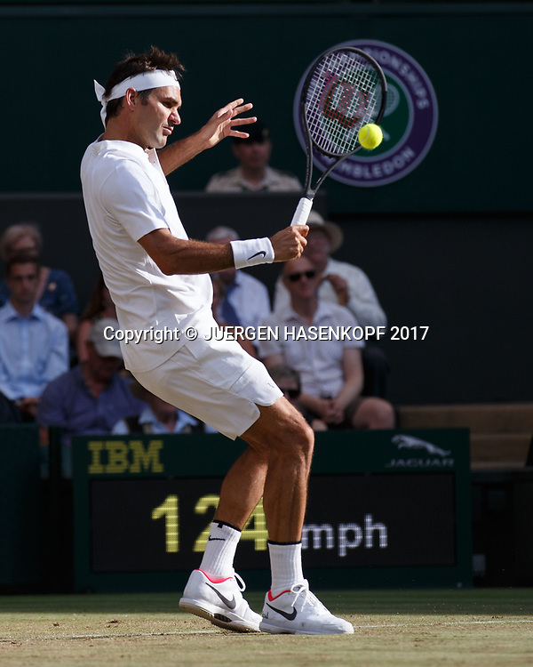 ROGER FEDERER (SUI)<br /> <br /> Tennis - Wimbledon 2017 - Grand Slam ITF / ATP / WTA -  AELTC - London -  - Great Britain  - 10 July 2017.