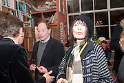 HENRIETTA GARNETT, Party to celebrate the publication of Animal Magic by Andrew Barrow. Tite St. London. 28 February 2011.  -DO NOT ARCHIVE-© Copyright Photograph by Dafydd Jones. 248 Clapham Rd. London SW9 0PZ. Tel 0207 820 0771. www.dafjones.com.