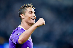 June 3, 2017 - Cardiff, South Glamorgan, Wales - Cristiano Ronaldo of Real Madrid celebrates scoring first goal during the UEFA Champions League Final match between Real Madrid and Juventus at the National Stadium of Wales, Cardiff, Wales on 3 June 2017. (Credit Image: © Giuseppe Maffia/NurPhoto via ZUMA Press)